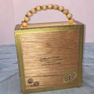 Bags - Vintage Cigar Box Purse- Monte Cristo 71b983c9a7f48